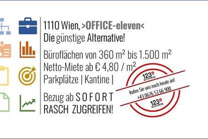1110 Wien, OFFICE-eleven IHRE günstige Alternative!
