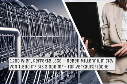 1200 Wien, Handelskai 100 Geschäftsflächen | MIETE | KAI 100