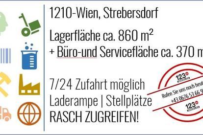 1210 Wien, Strebersdorf - MIETE Lager - Service - Werkstatt - Büro