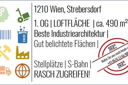 1210 Wien, Strebersdorf - LOFTFLÄCHEN - MIETE