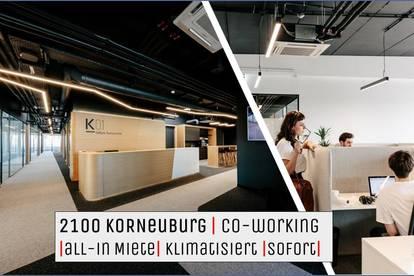 2100 Korneuburg   CO-WORKING All-In   KLIMATISIERT   Sofortbezug