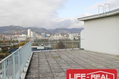 helle Mietwohnung mit Loggia im Zentrum von Linz