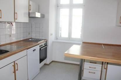 helle Wohnung im Zentrum von Linz, mit Donaublick