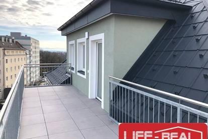 Froschberg - Dachgeschoßwohnung mit Terrasse - jetzt mit VIDEOBESICHTIGUNG