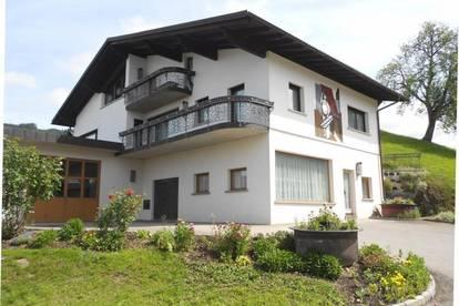 großes Mehrfamilienwohnhaus mit Werkstätte