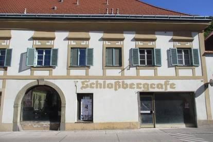 Ehemaliges Schlossbergcafe am Hauptplatz von Kapfenberg !