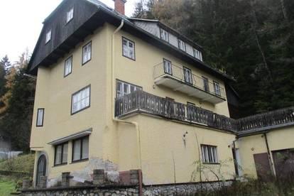 Große Liegenschaft mit 2 alten Zinshäusern in Turnau-Seewiesen !