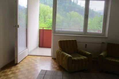 Nette Kleinwohnung mit Loggia und Carport in Kapfenberg-Walfersam !