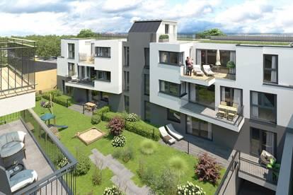 PROVISIONSFREI, Exklusive 99m² Dachgeschosswohnung in Kritzendorf, 3 Zimmer + 84m² privaten Dachgarten