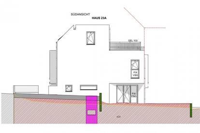 Provisionsfreie 127m² ziegelmassiv Doppelhaushälfte, 5 Zimmer, 70m² Eigengarten + Dachterrasse, vollunterkellert, Abstellplatz