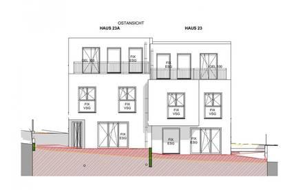 PROVISIONSFREI, 127m² Doppelhaushälfte mit Eigengarten, 5 Zimmer + vollunterkellert, Dachterrasse, Abstellplatz