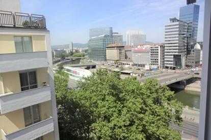ERSTBEZUG, 8.OG, tolle Aussicht, nähe Schwedenplatz, 2-Zimmer, Schlafzimmer hofseitig, unbefristet