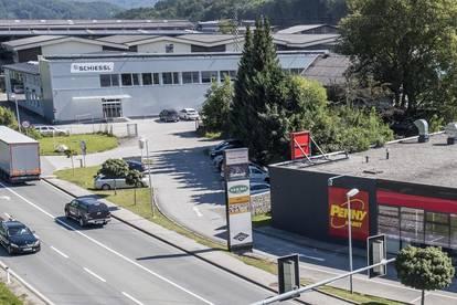Parkplätze beim Handelscenter Bergheim
