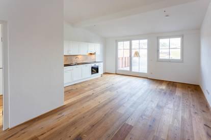 Hochwertige 2-Zimmer-Terrassenwohnung zum Erstbezug