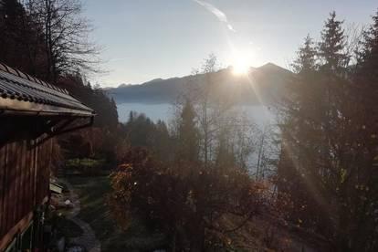Kleines Landhaus in unverbaubarer, sonniger Lage in Zell am See