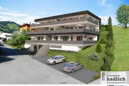 Neubau-Eigentumswohnung Top 1 mit großer Terrasse in sonniger Lage in Bruck an der Großglocknerstraße!
