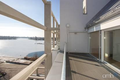 Erstbezug-Moderne Maisonette mit Terrassen und Blick auf die Donau, U1