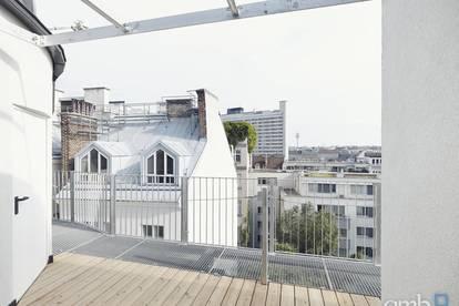 Appartement mit 2 Terrassen im Botschaftsviertel, Nähe Arenbergpark
