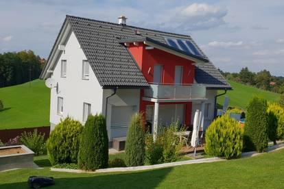 8503 St.Josef: Neuwertiges Wohnhaus mit ca. 130m² Wfl., Doppelgarage und Gartenhaus, sowie ca. 1.012 m² Grund