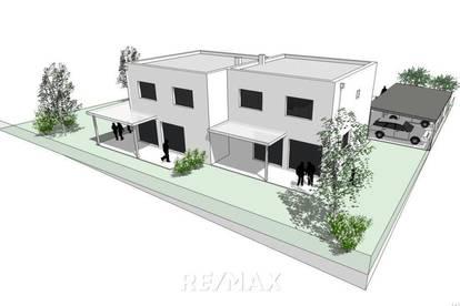 NEUBAU - Doppelhaushälfte inkl. 2-fach Carport mit Grünfläche - PROVISIONSFREI für den Käufer