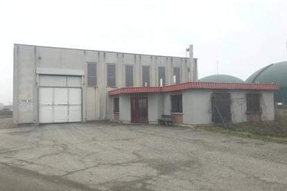 Lager/Produktionshalle mit Bürogebäude
