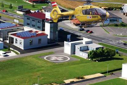 Business-Center, Helicopter Airport LODL