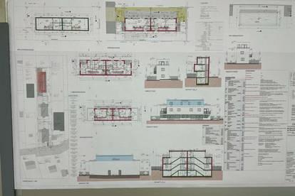 Baugenehmigtes Baugrundstück für 3x2 Doppelhäuser........... GENEHMIGT SOFORT zum Bauen