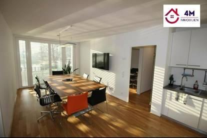 Perfekt geschnittene 200m² großzügige Wohnfläche an der alten Donau mit 2 Garagenplätze