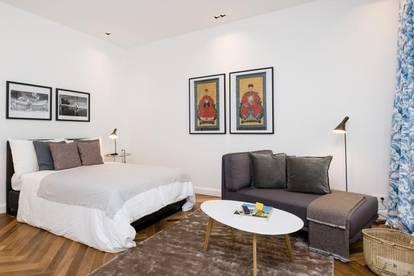 furnished Designer 1 bedroom Apartment