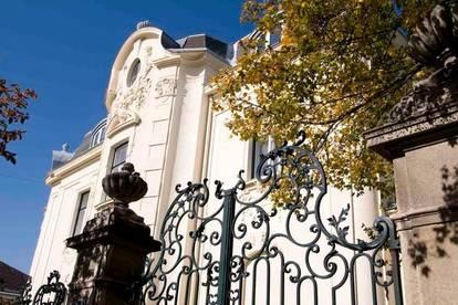 Repräsentative Altbauwohnung in stilvoller Villa in Baden bei Wien