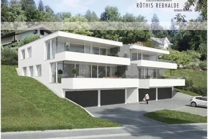 NEUBAU: Exklusivwohnungen, Röthis Rebhalde - Wohnen am Berg!