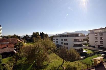 Lustenau Zentrum - 3,5 Zimmerwohnung mit herrlicher Aussicht!