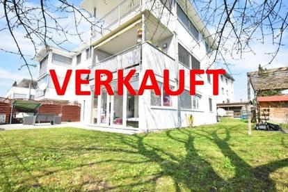 Lustenau: Gemütliche 3 Zimmerwohnung mit sehr großem Garten zu kaufen