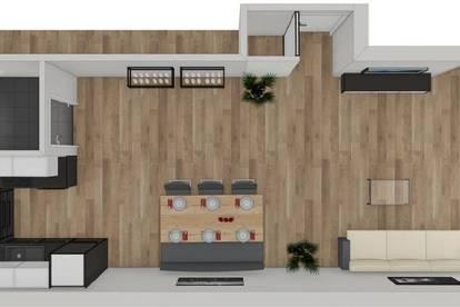NEUBAU - 2 Zimmerwohnung im 1. Obergeschoss zu vermieten!