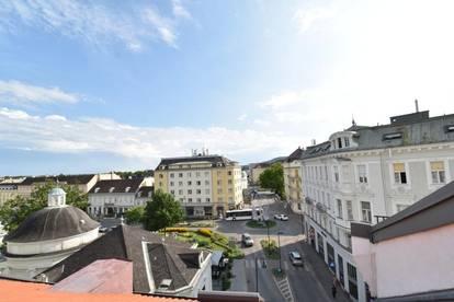 Dachgeschosswohnung im Zentrum von Baden bei Wien!
