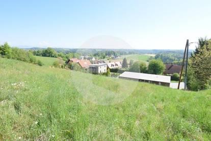 Nähe Laßnitzhöhe: Attraktives Grundstück in Aussichtslage!!!