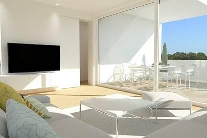 Maisonettewohnung mit ansprechender Architektur, Terrasse und Eigengarten! Noch 1 Einheit verfügbar