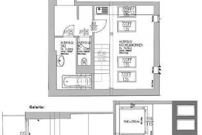 Mitten im Zentrum: Schöne Maisonettewohnung mit 3 Zimmern und Balkon!