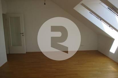 2-Zimmer-Dachgeschoss-Wohnung mit wunderschönem Stadtblick! PROVISIONSFREI!