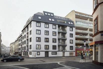 Preiswerte 2 -Zimmer Wohnung mit Terrasse im Hoftrakt
