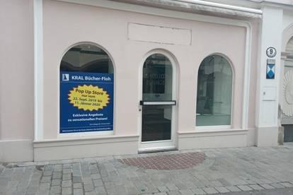 Geschäftslokal mitten in der Fußgängerzone