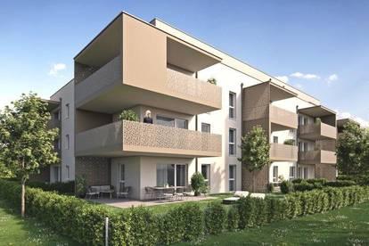 Erstbezug - 3- Zimmer-Wohnung mit herrlichem Ausblick und großem Balkon!
