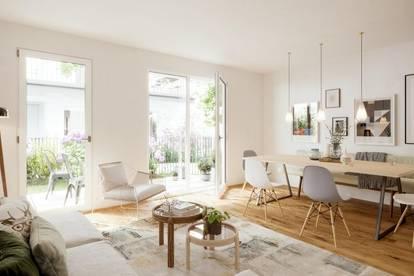 3-Zimmer Gartenwohnung im Neubauprojekt Favor-Vita