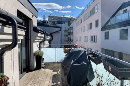 Sonnige Dachgeschoßwohnung mit großerTerrasse