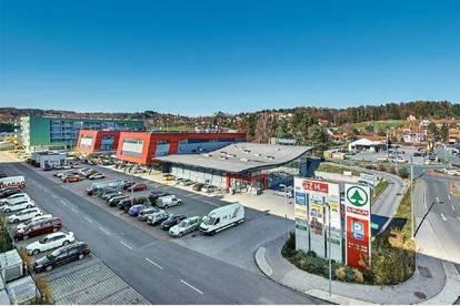 Hart bei Graz: Neuwertige Geschäftsfläche mit Auslagenfront!