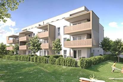 Traunfeld - 3-Zimmer-Wohnung mit großem Balkon in schöner Siedlungslage!