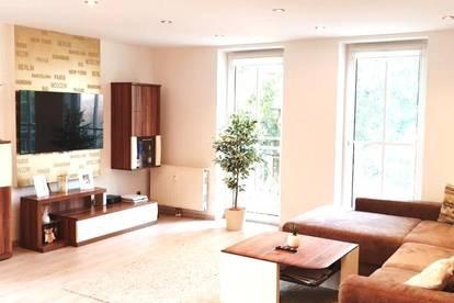 Sehr gepflegte und neu sanierte Wohnung mit Balkon!