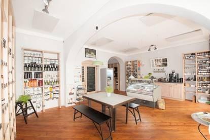 Etablierter Delikatessenladen in unmittelbarer Nähe zur Mariahilfer Straße!!!
