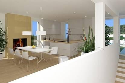 Exklusive Maisonettewohnung mit ansprechender Architektur, Terrasse und Eigengarten!