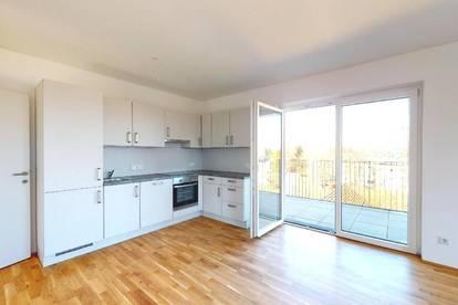 Attraktive 3-Zimmer-Wohnung mit großer Loggia und Einbauküche!